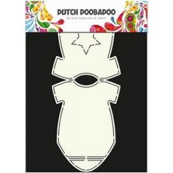 Dutch Doodaboo Dutch CARD ART BABY ONESIE