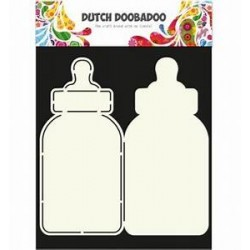 Dutch Doodaboo Dutch CARD ART BABY BOTTLE