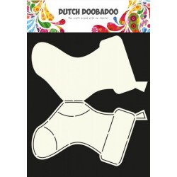 Dutch Doodaboo Dutch CARD ART STOCKINGS
