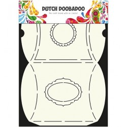 Dutch Doodaboo OX ART PILLOW BOX
