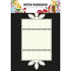 Dutch Doodaboo CARD ART FLOWER