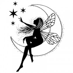 Lavinia Stamps Moon Fairy
