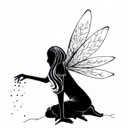 Lavinia Stamps Fairy Dust Silhouette