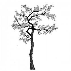 Lavinia Stamps Cherry Blossom Tree