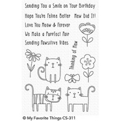 CLEAR STAMPS MEOW MIX