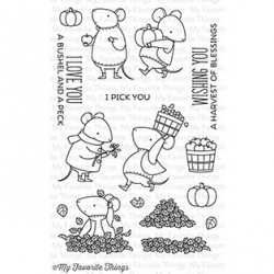 CLEAR STAMPS HARVEST MOUSE