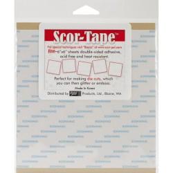 Scor Tape Sheets 6x6 inch, 15 x 15 cm,