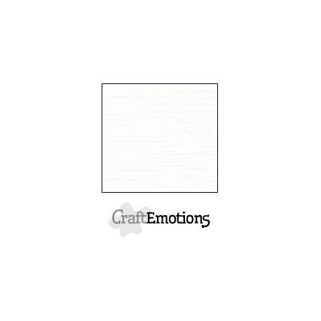 Linen Cardstock white