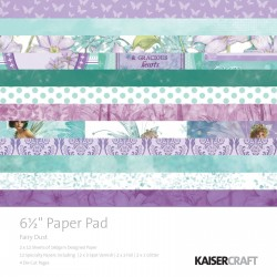Kaiser craft Fairy dust paper pad 16X16CM