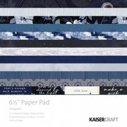 Kaisercraft STAR GAZER paper pad 16X16CM