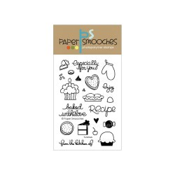 PAPER SMOOCHES - clear Stamps Yummers