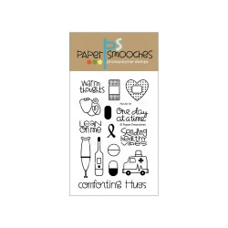 PAPER SMOOCHES - clear Stamps -first Aid kit