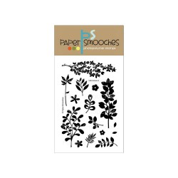 PAPER SMOOCHES - clear Stamps -Botanicals 2