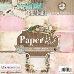 STUDIO LIGHT  PAPER PAD 077 Memories of Summer 1
