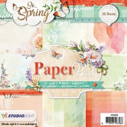 STUDIO LIGHT  PAPER PAD 075 SO SPRING 1