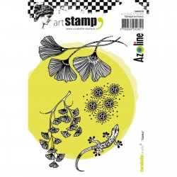 Carabelle cling stamp A6 Ginko