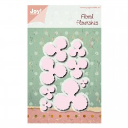 Joy!Crafts DIES Noor rib flowers