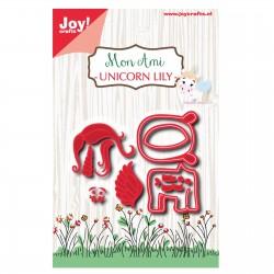 JoyCrafts DIES Mon ami unicorn Lily
