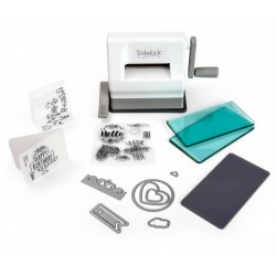 SIZZIX SIDE KICK STARTER KIT WHITE AND GRAY