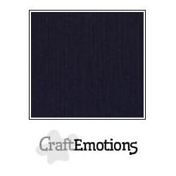 Linen Cardstock Black