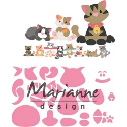 MARIANNE DESIGN COLLECTABLES ELINES KITTEN