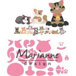 MARIANNE DESIGN COLLECTABLES ELINES KITTEN