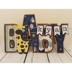 Dutch Doodaboo CARD ART BABY