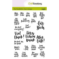 Clear Stamps Handletter Quotes Verschieden