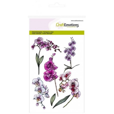 Clear Stamps Orchid branches