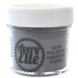 AVERY ELLE Metallic Fine Embossing Powder, SILVER