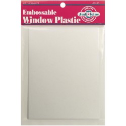 JUDIKINS embossable Window Plastic Sheets