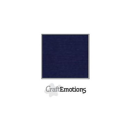 Linen Cardstock dunkel blau