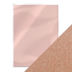 Tonic Studios PEARLESCENT CARDSTOCK - BLUSHING PINK