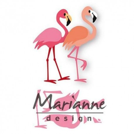 MARIANNE DESIGN COLLECTABLES ELINES FLAMINGO