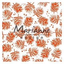 Marianne D Embossing folder PINE 14.1 X 14.X CM