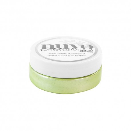 NUVO EMBELLISHMENT MOUSSE, Spring Green