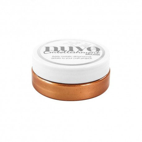 NUVO EMBELLISHMENT MOUSSE, Fresh Copper