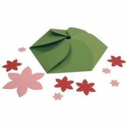 SPELLBINDERS GRAND NESTABILITIES HEXAGON PETAL ENVELOPE