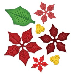 SPELLBINDERS NESTABILITIES Layered Poinsettia