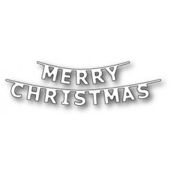 MEMORY BOX Merry Christmas Banner
