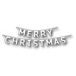 MEMORY BOX Merry Christmas Banner