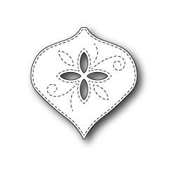 MEMORY BOX Stitched Graham Ornament