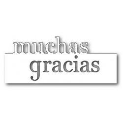MEMORY BOX Muchas gracias en Grande