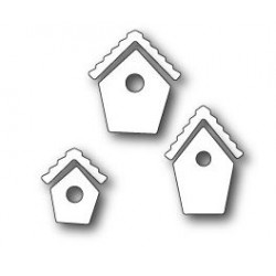 MEMORY BOX Bitty Birdhouses