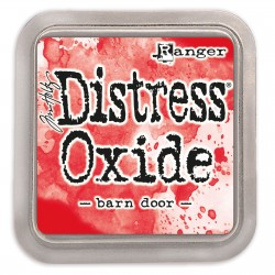 Tim Holtz distress oxide barn door