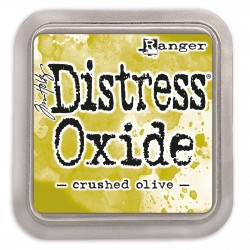 Tim Holtz distress oxide Crushed olive