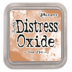 Tim Holtz distress oxide Tea Dye
