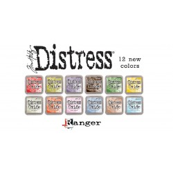 PRE-ORDER Tim Holtz distress oxide ALL NEW COLOURS (SET 4)