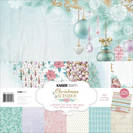 KAISERCRAFT WINTER WISHES COLL PACK, 30,5 X 30,5 CM, 12