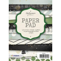 STUDIO LIGHT  PAPER PAD 095 CHRISTMAS